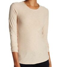 b802db59e2acc3 James Perse Women Sz2(m) Crew Neck Long Sleeve Jersey Tee in Lims