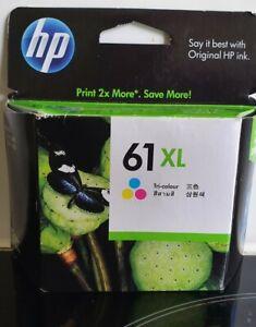 HP 61XL Tri-Color Inkjet Print Cartridge - Brand new