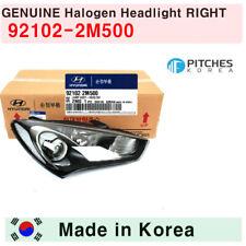[92102-2M500]GENUINE Hyundai Halogen Headlight RIGHT 2013-2016 Genesis Coupe