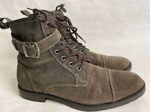 BANANA REPUBLIC Gray Suede Ankle Boots Size 10 M
