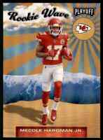 2019 PLAYOFF ROOKIE WAVE MECOLE HARDMAN JR. RC KANSAS CITY CHIEFS #12 INSERT