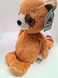 jellycat medium bashful red panda