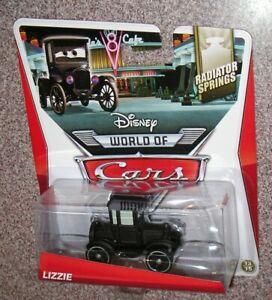 Disney Pixar World of Cars  LIZZIE  Radiator Springs Series 13/15 Mattel BHN92