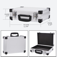 Small Aluminum Hard Briefcase Home Toolboxes Office File Suitcases Flight Cases