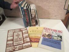 Lot Of Books On The Civil War