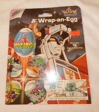 1985 Voltron Transformer Easter Wrap N Egg decoration set UNOPENED FREE SHIPPING