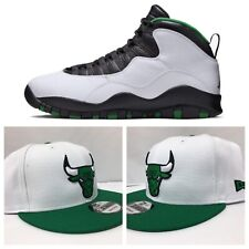 "Perfect Matching Chicago Bulls New Era Snapback For Air Jordan 10 "" Seattle """