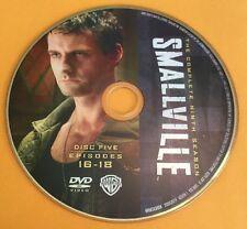 Smallville Season 9 Disc 5 Replacement DVD