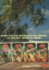 X2235 Nuovi Succhi di frutta DEL MONTE - Pubblicità 1989 - Advertising