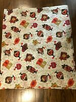 vintage candy shop theme fabric 50s 60s