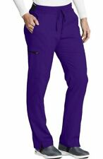 "Grey's Anatomy Stretch #GRSP50 Elastic Waist Scrub Pant in ""Violet"" Size 2XL"