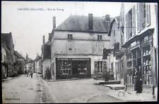 FRANCE~1900's LAIGNES (Cote-d'Or)  Rue du Bourg~ TABAC ~ TOBACCO STORE