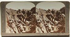 Grande Guerre WWI France Belgique UK Allemagne Stereo Photo Vintage 1914-18