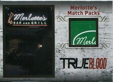True Blood Archives Relic / Costume Card R1 Merlottes Match Packs
