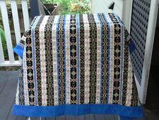 Turkish Sofa Throw 155 x 155 chenille cotton polyester. Made in Turkey.