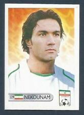 MUNDOCROM WORLD CUP 2006- #229-IRAN-JAVAD NEKOUNAM