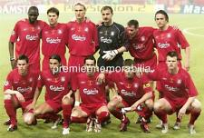 LIVERPOOL FC 2005 CHAMPIONS LEAGUE FINAL STEVEN GERRARD JAMIE CARRAGHER A4 PRINT