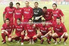 LIVERPOOL FC 2005 CHAMPIONS LEAGUE FINAL STEVEN GERRARD JAMIE CARRAGHER A4 PRINT