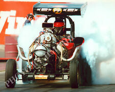 FUEL ALTERED PHOTO WINGED EXPRESS DRAG RACING BAKERSFIELD 1999 NHRA