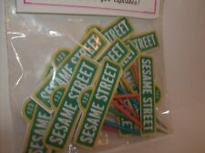 SESAME STREET SIGN-Cupcake Toppers-Birthday-Decorating set of 24