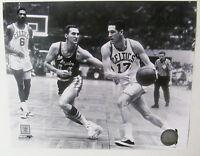 John Havlicek Jerry West Bill Russell Boston Celtics LA Lakers RARE 8x10 photo