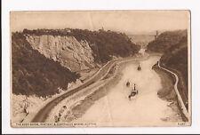 (d09) The Avon Gorge, Portway & Suspension Bridge, Clifton 1937  - Used