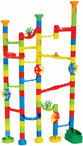 Marbulous Marble Run - Build Your Own Marble Track And Watch Your Marbles Twist