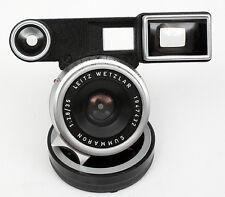 LEICA M Summaron 35mm f/2.8 Lens with Goggles & Caps