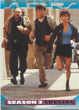 1997 Inkworks Sliders Season 3 Embossed Insert Card #4 Welcome to San Angeles