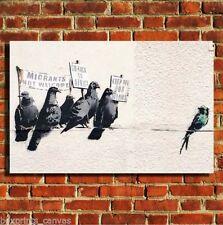 Multi-Colour Birds Art Prints