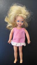 Vintage Tutti Doll # 3550 1965 in original dress, Barbie and Skipper's sister