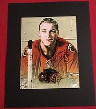 "Bobby Hull Signed And Matted 11"" X 14"" Print JSA Authenticated. HOF"