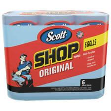 SCOTT 75146 Professional Shop Towels 55 Sheets per Roll - 6 Pack
