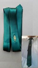 Cravate verte pour Amicale OR ou ARGENT - NEUVE - EN STOCK - Légion étrangère