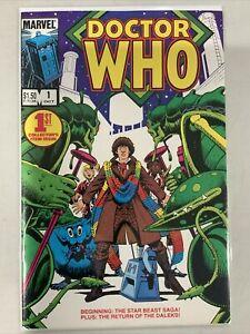 Doctor Who #1-23 COMPLETE SERIES SET - Marvel Comics 1984 - Bronze Age BBC VF/NM