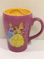 Disney Princesses 3D Mug Cinderella Belle Aurora Sleeping Beauty