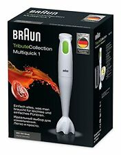 Braun MQ100 230V Kitchen Hand Blender Stainless Steel Blades with Beaker N8A7