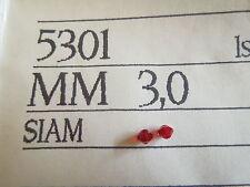 Swarovski Vintage Siam 3mm Style 5301 3gross 432 bead count