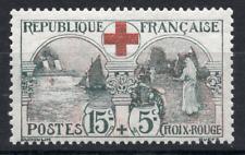 TIMBRE FRANCE Année 1918 Au Profit de la Croix Rouge n°156 . NEUF** Signé