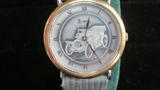 Pierre Lannier Paris watch with picture of car on its dial pre-owned