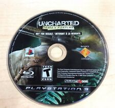 Uncharted: Drake's Fortune (Sony PlayStation 3, 2007) DISC ONLY 6383