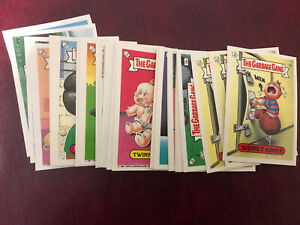 1992 TOPPS UK IRELAND GARBAGE GANG 91 Complete Set 86 Inc All Varieties GPK