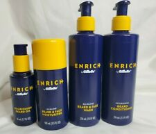 Enrich by Gillette Mens beard care kit Conditioner, Wash, Moisturizer and Oil