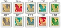 3792-01 3801 American Eagle 2003 Presorted (25) Singles Set of 10 MNH - Buy Now