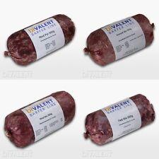 Barf Frostfleisch Rind durchwachsen 500g 1000g Futter Hundefutter grob Gewolft