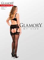 GLAMORY Plaisir Ouv. 20 Feinstrumpfhose Gr. 40 - 62 in schwarz G-50121