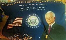 Robert C Byrd president pro tempore Senate tapestry wall hanging 6'X 4'