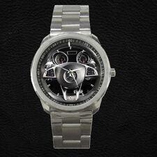 Custom Mercedes-AMG GLE 63 Coupé Steering Wheel Dashboard Stainless Steel Watch