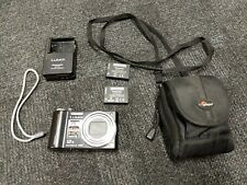 Panasonic Black LUMIX DMC-TZ7 10.1MP Digital Camera with Spare Battery and Case