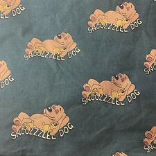 Snoozzzeee Dog Bed Cover Vintage 1998 Made In England 54�x31�